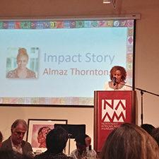 OHBD almaz -- impact story